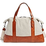 Eleventy Canvas & Leather Bag