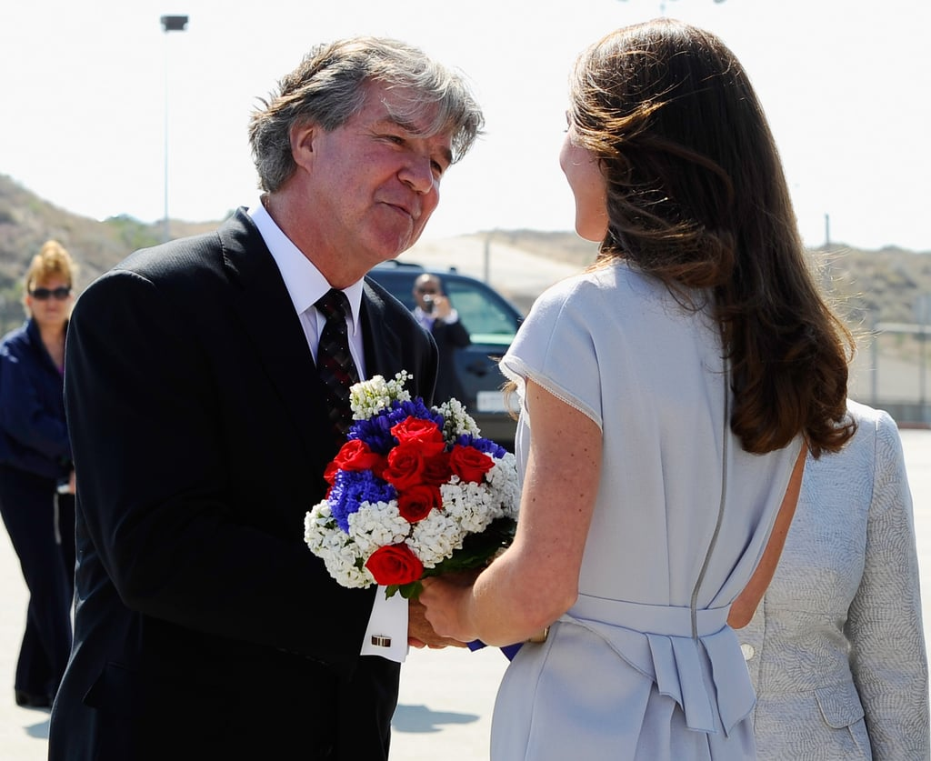 Kate Middleton arrives in LA.