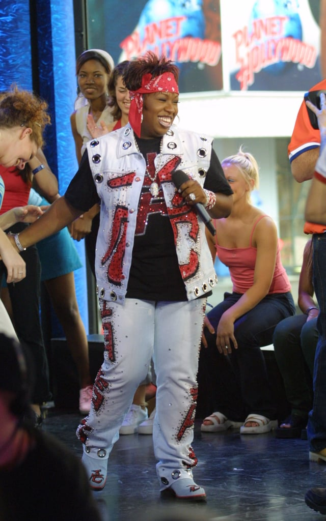 Missy Elliott hopped on TRL's stage in 2001 to perform in a hip-hop special.