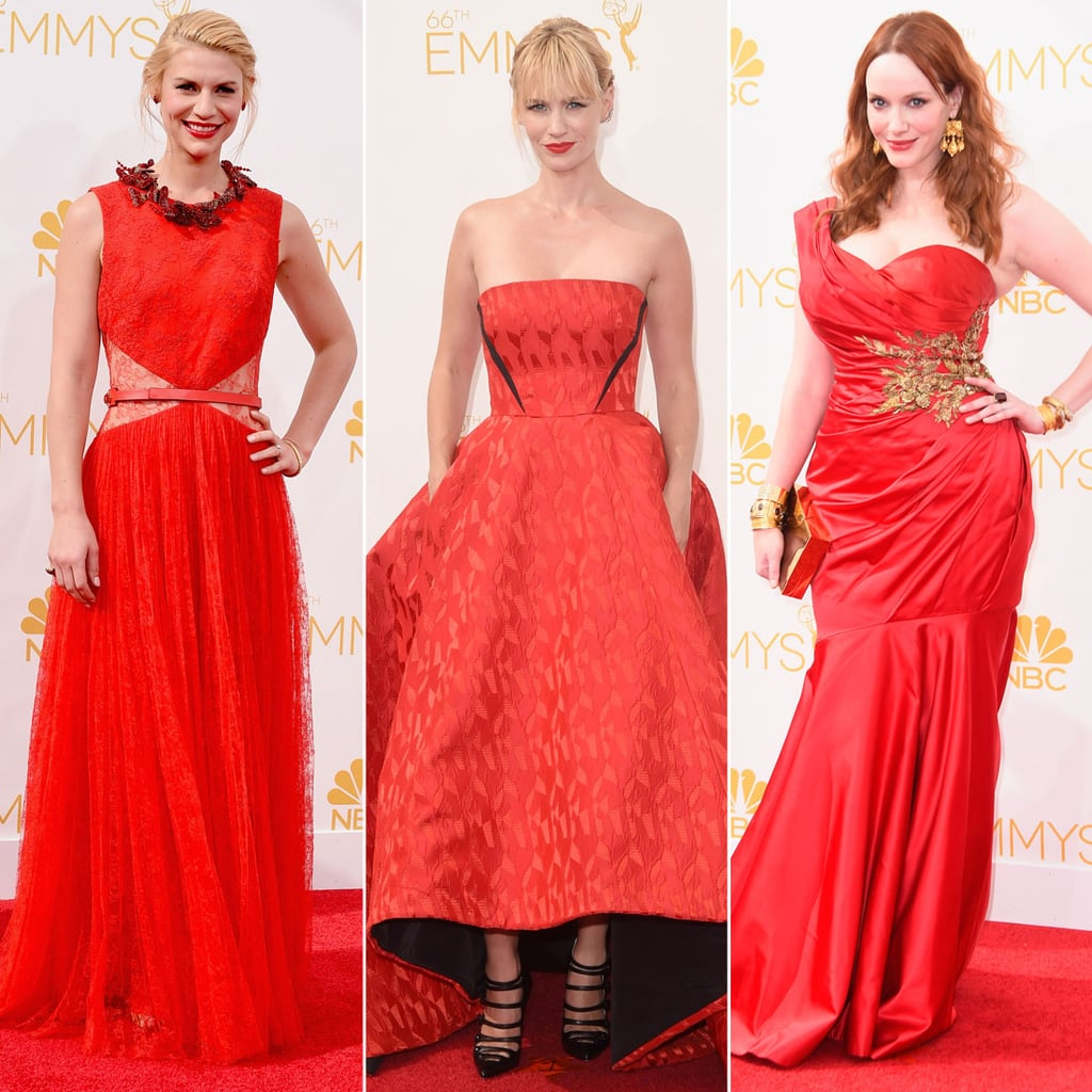 Is Red the New Black? Tonight's Arrivals Say So!