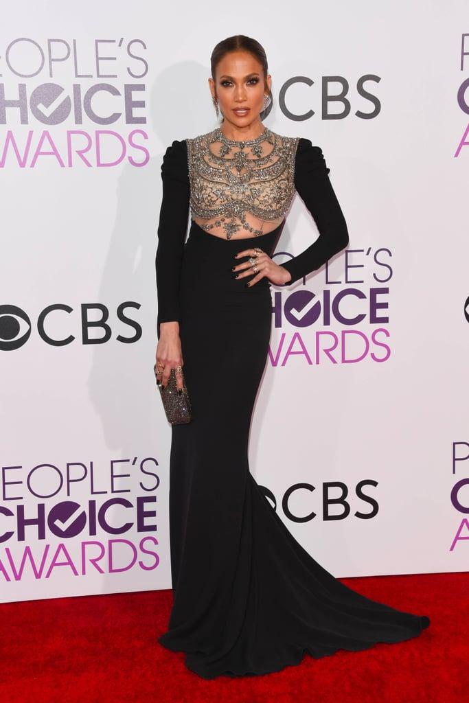 J lo at fashion awards dresses