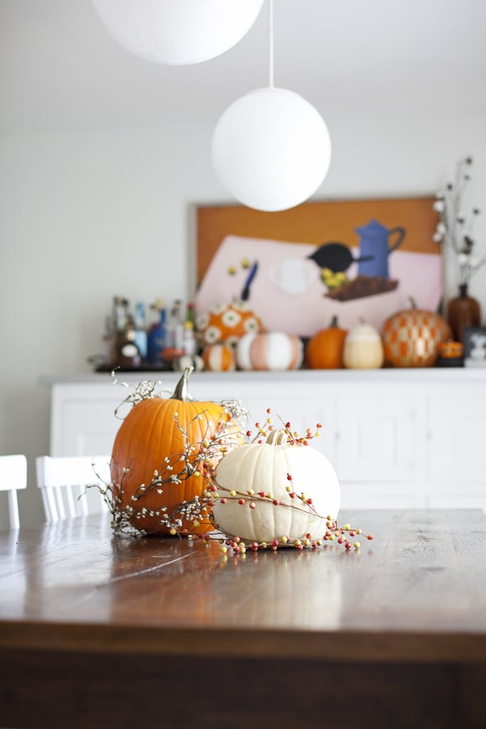 Fall Garland Pumpkins