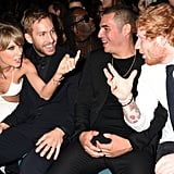 "When They Were Like, ""Lean Back, Calvin, We Gotta Talk."""