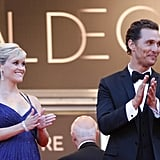 Reese Witherspoon Sparkles in Blue Next to Handsome Matthew McConaughey