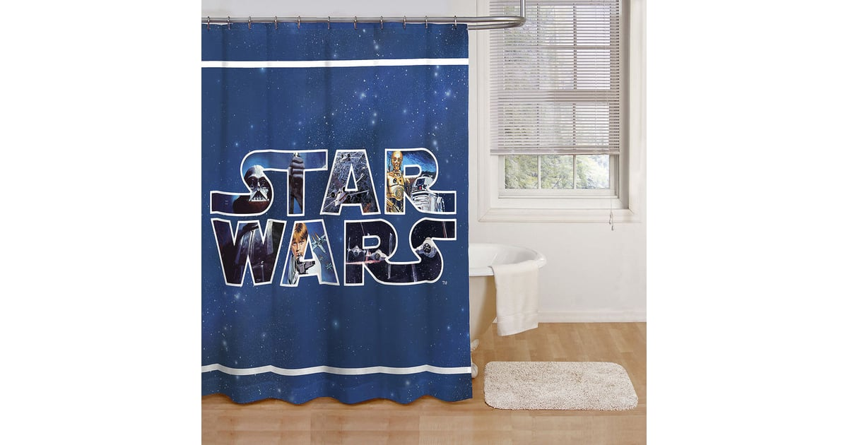 Star Wars Classic Shower Curtain | Star Wars Gifts For the Home ...