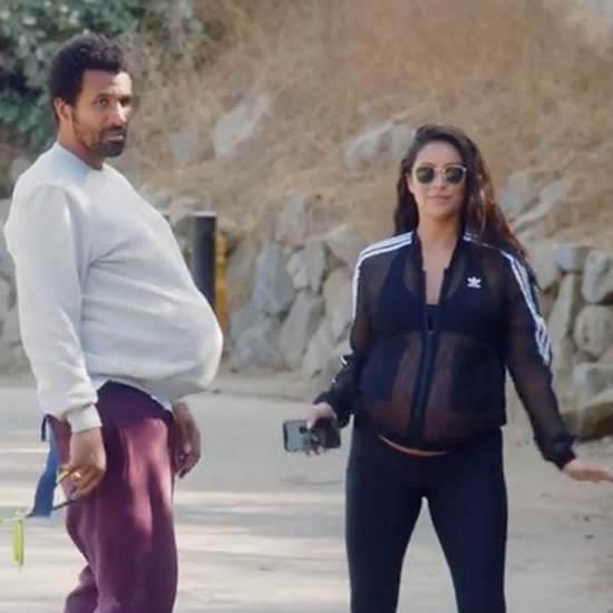 Shay Mitchell Makes Matte Babel Wear Pregnancy Belly Video