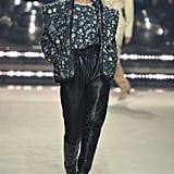Carolyn Murphy on the Isabel Marant Fall 2020 Runway at Paris Fashion Week