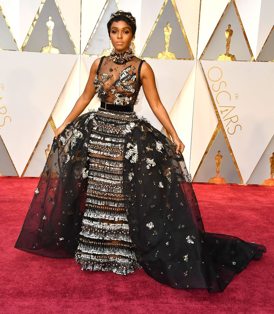 Janelle Monae at the 2017 Academy Awards
