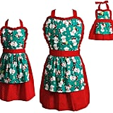 Mommy, Dollie, and Me Santa Apron Set