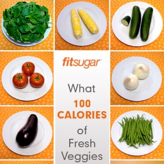 Poster of 100-Calorie Portions of Vegetables