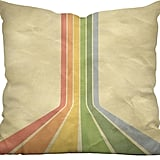 Chase the Rainbow Throw Pillow ($50)