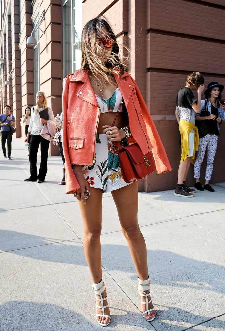 Aimee Song Brought A Beach Girl Vibe To The Shows Best Street Style At Ny Fashion Week Spring