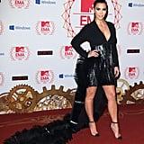 Kim Kardashian at the MTV EMAs in 2012