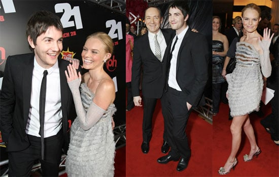 Kevin Spacey, Kate Bosworth & Jim Sturgess Attend The Premiere Of 21 At ShoWest