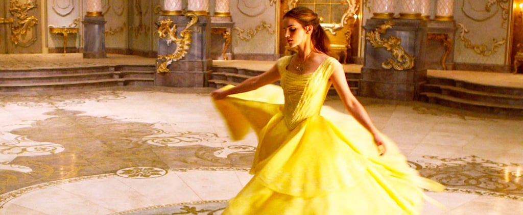 Exclusive — Emma Watson Is Brimming With Joy in Beauty and the Beast's Dance Scene