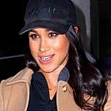 Meghan Markle Mummy Necklace NYC Feb. 2019