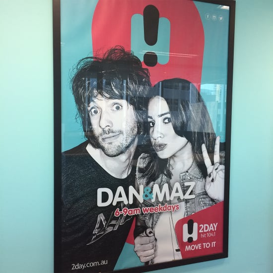 What It's Like to Spend a Day With 2DayFM's Dan and Maz