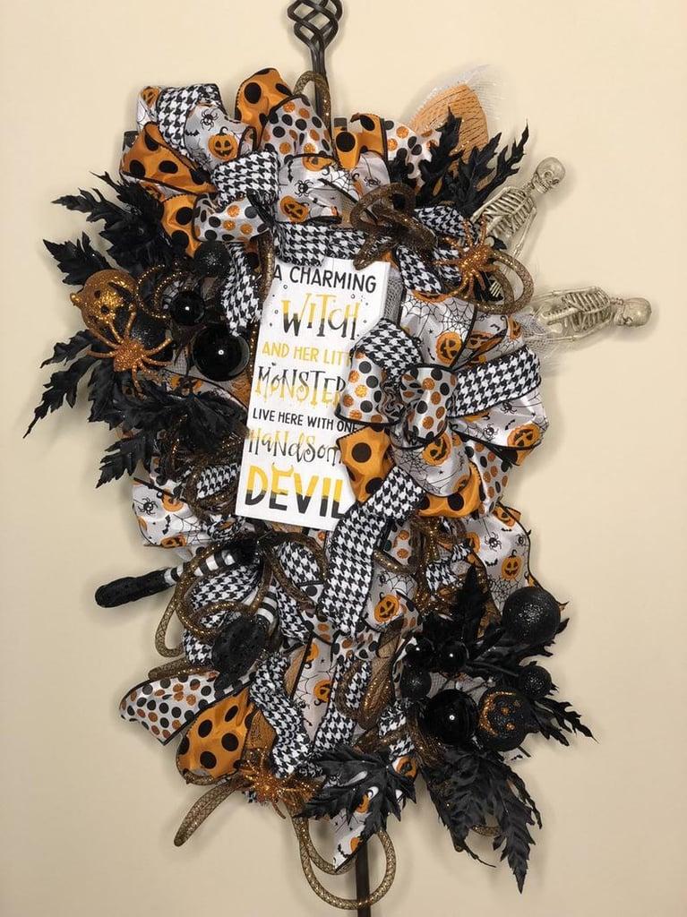 Halloween Door Wreath Best Halloween Wreaths Popsugar Home Photo 41