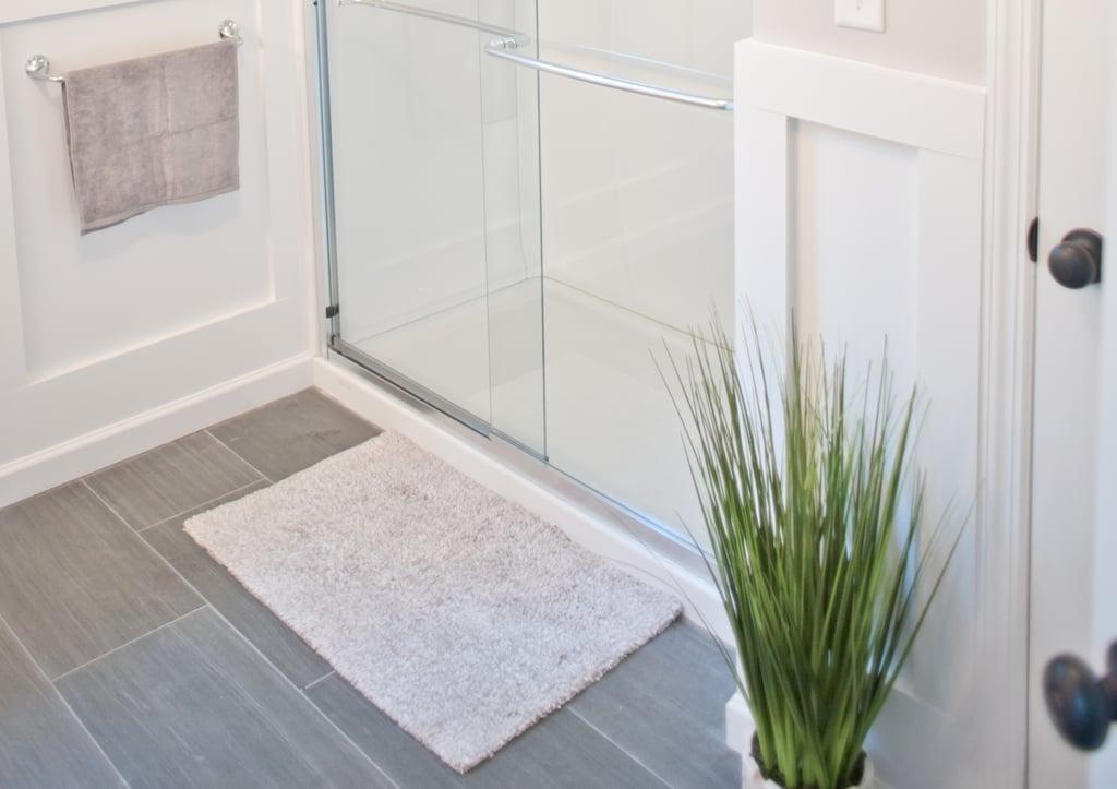 Worn-out bath mats