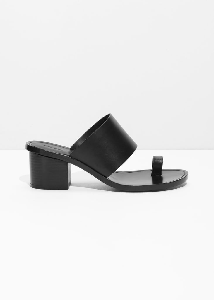 & Other Stories Toe Slide Sandal