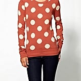 Perk up your whole look in one easy step — just look to these polka dots for a burst of high-impact print.  THML Clothing Polka Dot Pullover ($69)