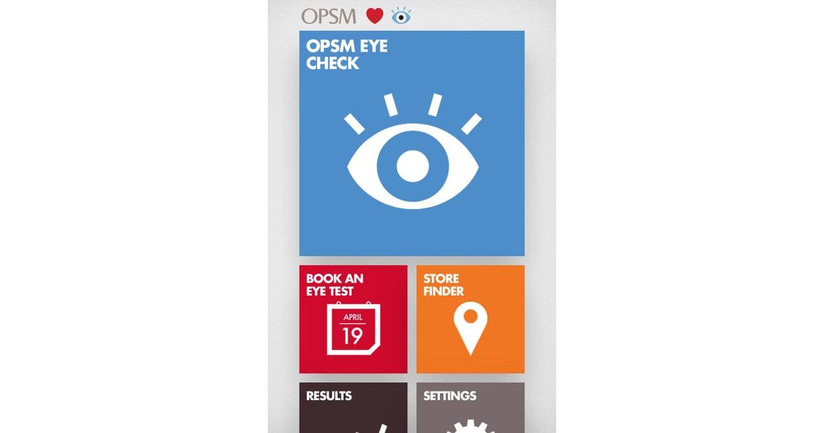 OPSM Eye Check App + Eye Health   POPSUGAR Fitness Australia
