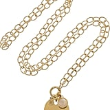 Monica Vinader 18-Karat Gold-Vermeil Charm Necklace