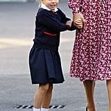 Contrasting Collar: Princess Charlotte