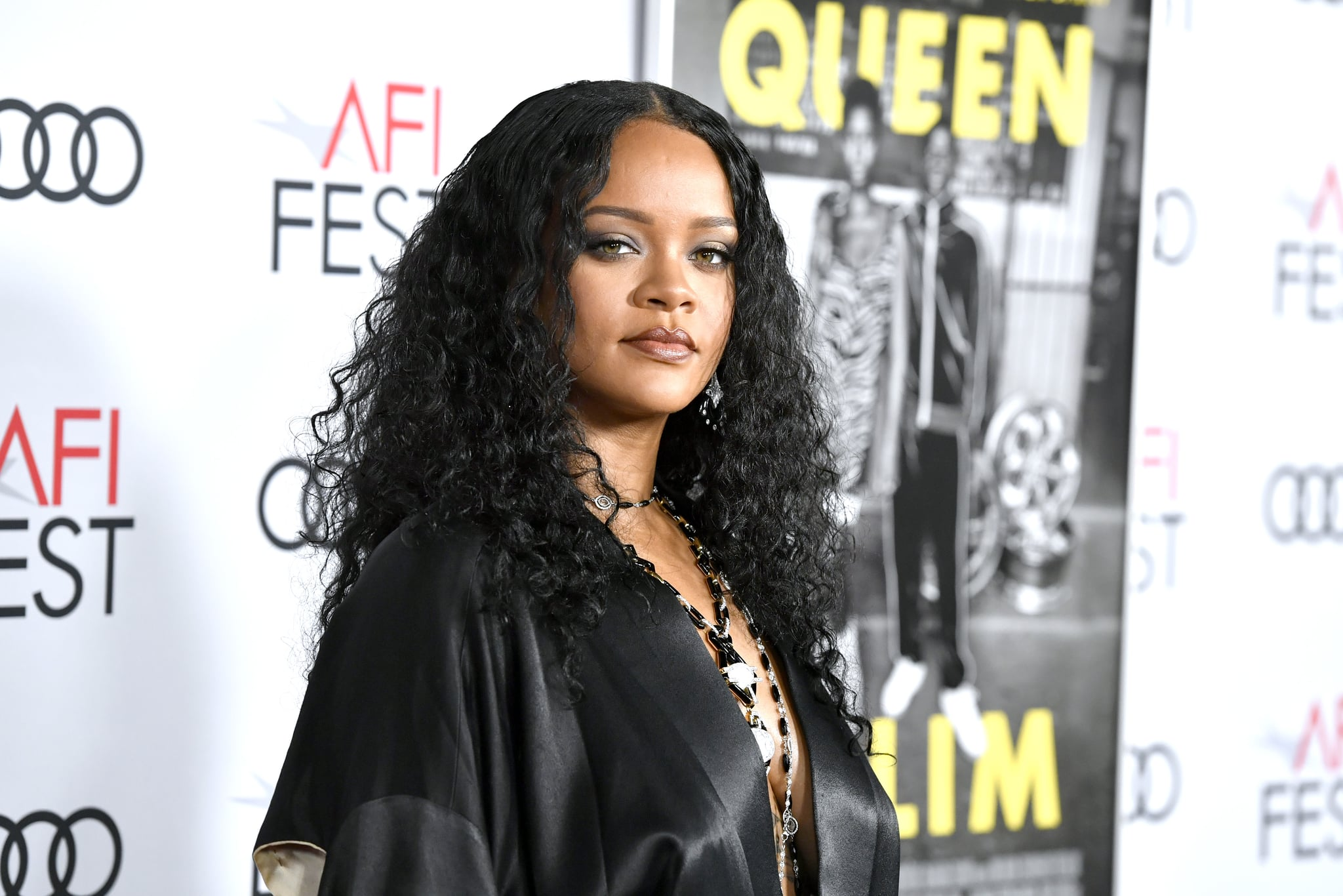 HOLLYWOOD, CALIFORNIA - NOVEMBER 14: Rihanna attends the