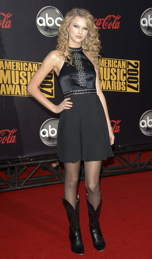 2007: Taylor Attended the AMAs For the First Time