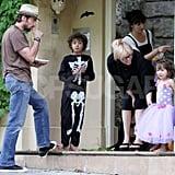 Oscar and Ava Make No Bones About Enjoying Halloween!