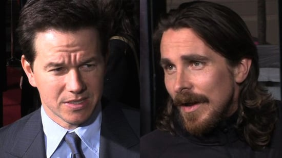 Video of Mark Wahlberg and Christian Bale at The Fighter Premiere in LA 2010-12-07 12:03:17
