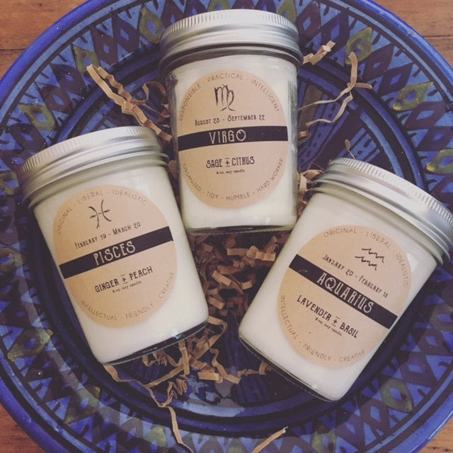 Zodiac Soy Candle