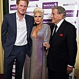 Then, Prince Harry Got to Meet Lady Gaga AND Tony Bennett