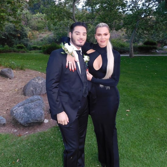 Khloe Kardashian Goes to Prom With a Fan June 2019