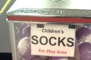 Are Coin-Operated Sock Machines a Little Much?