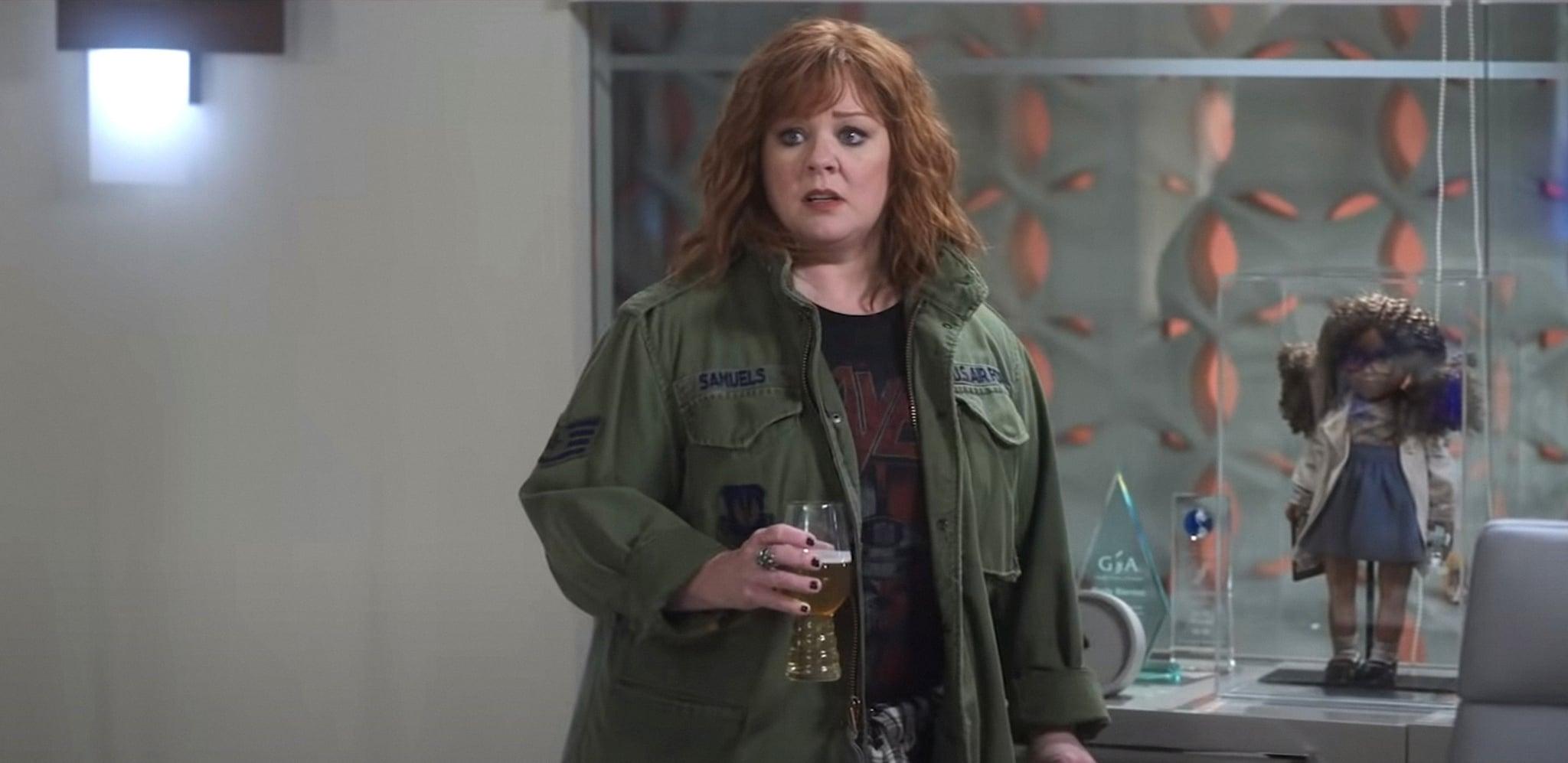 THUNDER FORCE, Melissa McCarthy, 2021.  Netflix /Courtesy Everett Collection
