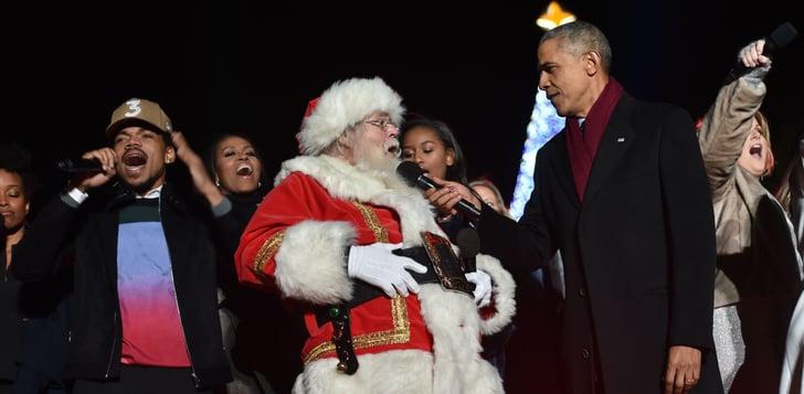 Barack Obama Singing Christmas Carols At White House 2016