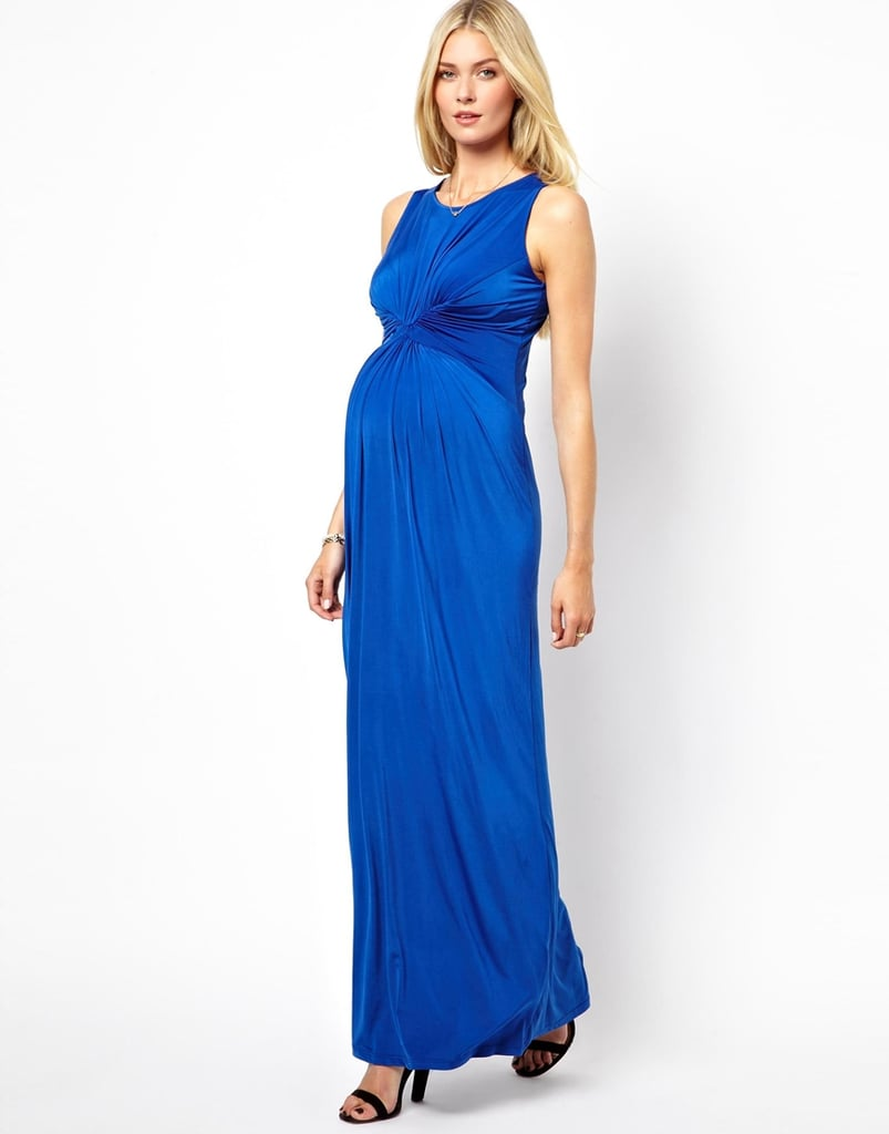 For the Charity Event: Isabella Oliver Pleated Maxi Dress