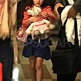 Katie Holmes and Suri Cruise Do a Girls-Only Dinner in NYC