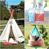 "Tribal-Inspired ""Be Brave Little One"" Baby Shower"