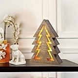 LED Wooden Fir Christmas Tree Light
