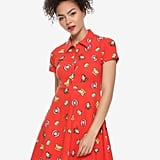 Disney Pixar Toy Story Red Collared Dress