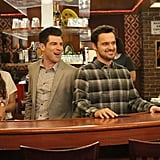 Nick Miller, New Girl Job: bartender Median annual salary: $33,000 This number probably doesn't include tips, and an adorable, funny, plaid-clad bartender like Nick Miller probably does OK in that department.