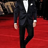 Daniel Craig hit the red carpet in London for Skyfall's premiere.