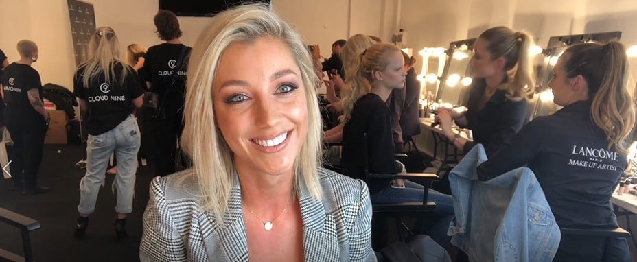 Lara Srokowski's Backstage Beauty Routine