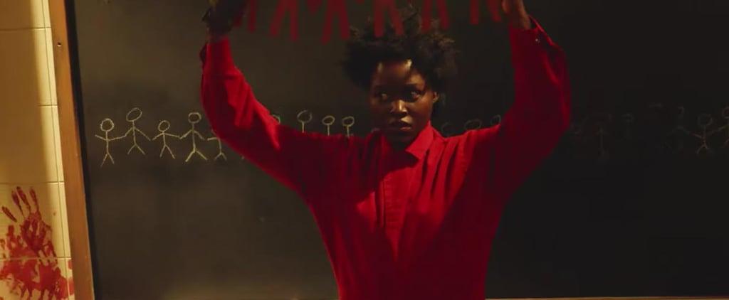 Lupita Nyong'o Scares Fans at Universal Studios Video