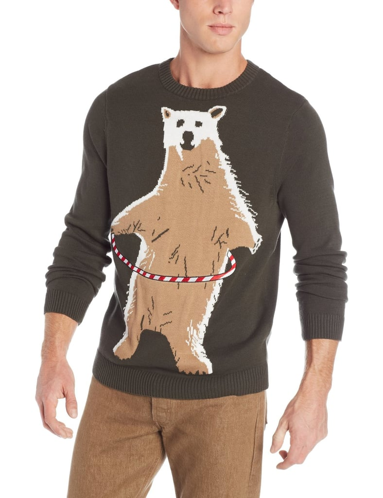 Polar Bear Hoopla Ugly Christmas Sweater