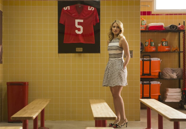 The Gang Reunites for Glee's 100th Episode, But It Doesn't Look Very Happy