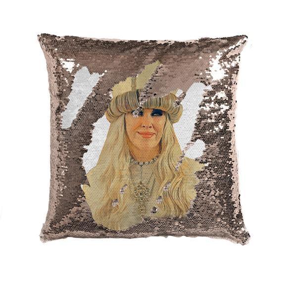 Sequin Moira Rose Pillow Cases